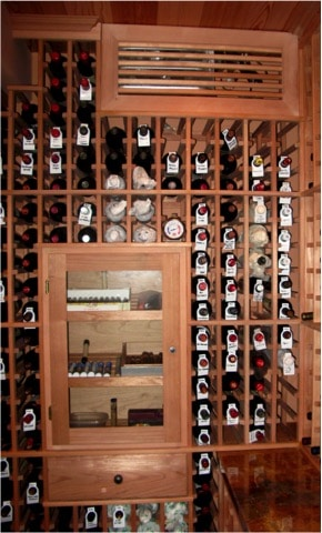Wine Cellar Racking Construction in Southern California