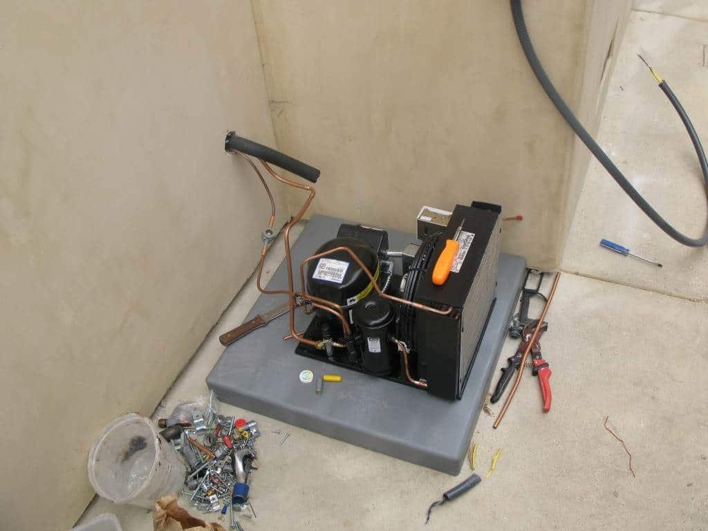 Efficient Wine Cellar Cooling System Custom Wine Cellar