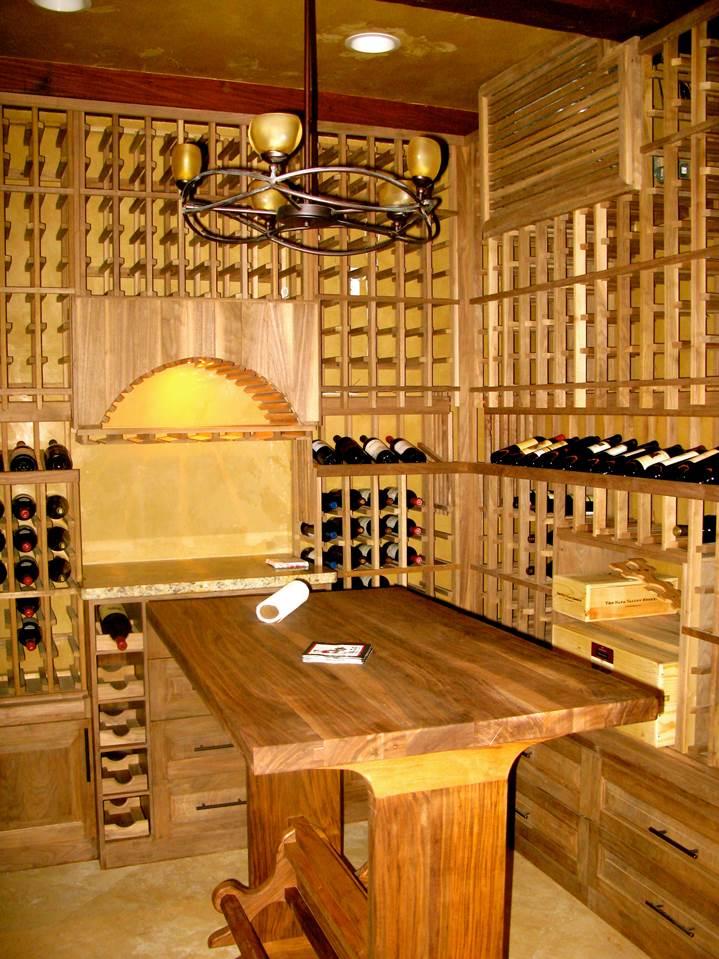 Custom Wine Racking System