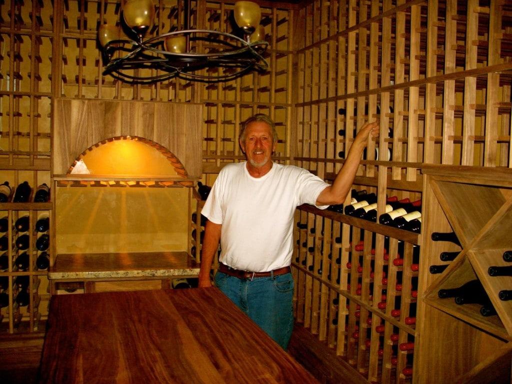 Ray Moore Stunning Home California Wine Cellar