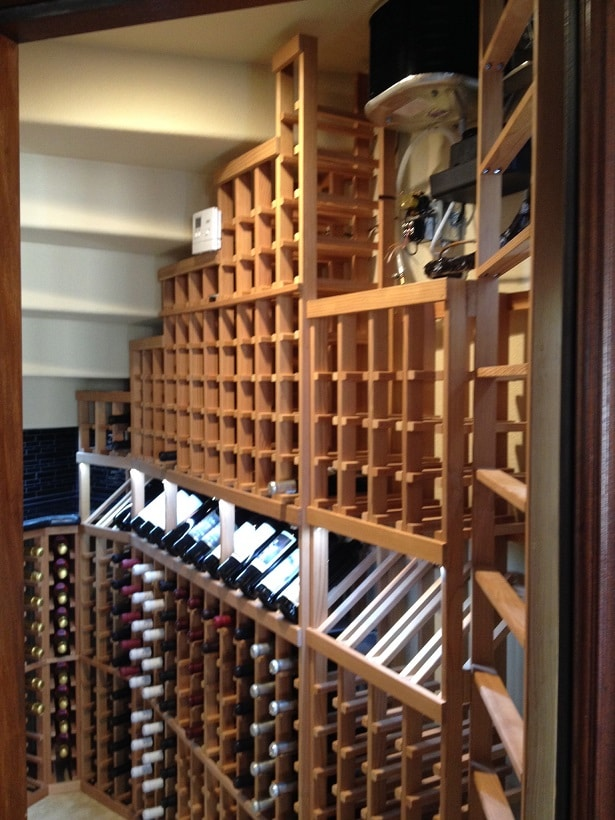 Installation Project Wine Cellar Cooling Unit For A Residential