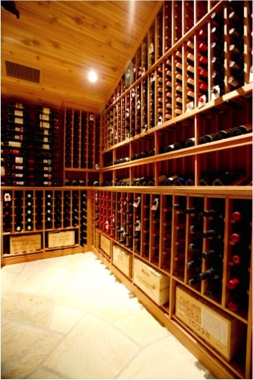 California Wine Cellar Construction by Arctic Metalworks