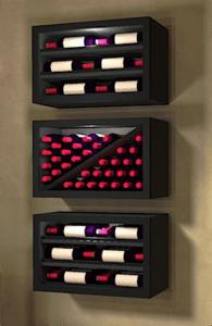 Contemporary Style Modular Wine Racks