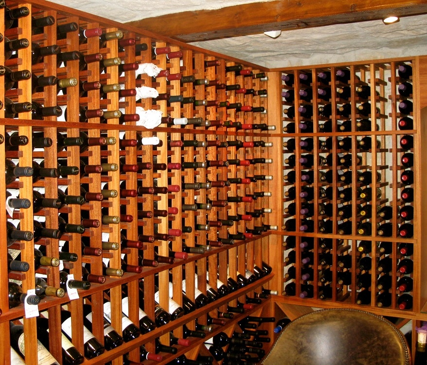 A Residential Wine Cellar Refrigeration Unit Installation