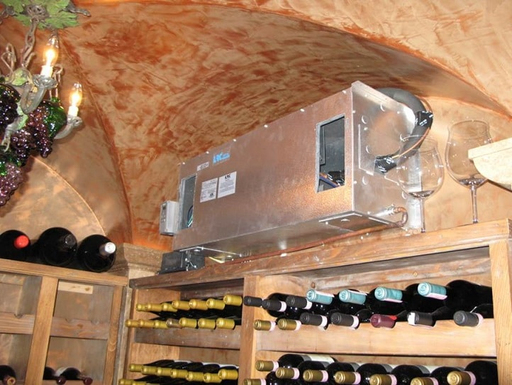 Installation Of A Wine Cellar Refrigeration System Ca