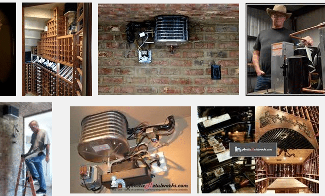 Arctic Metalworks Wine Cellar Cooling and Wine Cellar Construction