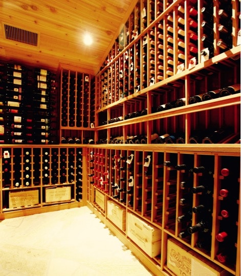 Custom Wine Cellars with Refrigeration Units by Arctic Metalworks in Orange County, California