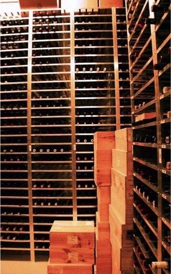 Wine Storage by Arctic Metalworks in Los Angeles