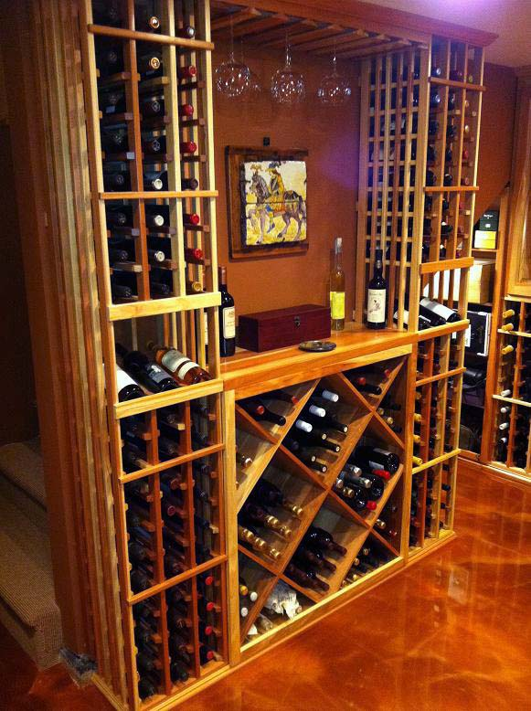 Other design elements of a wine cellar