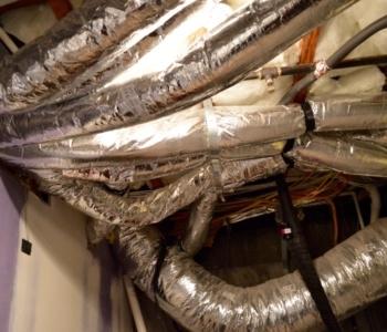 Aluminum Flex refrigeration system ducting