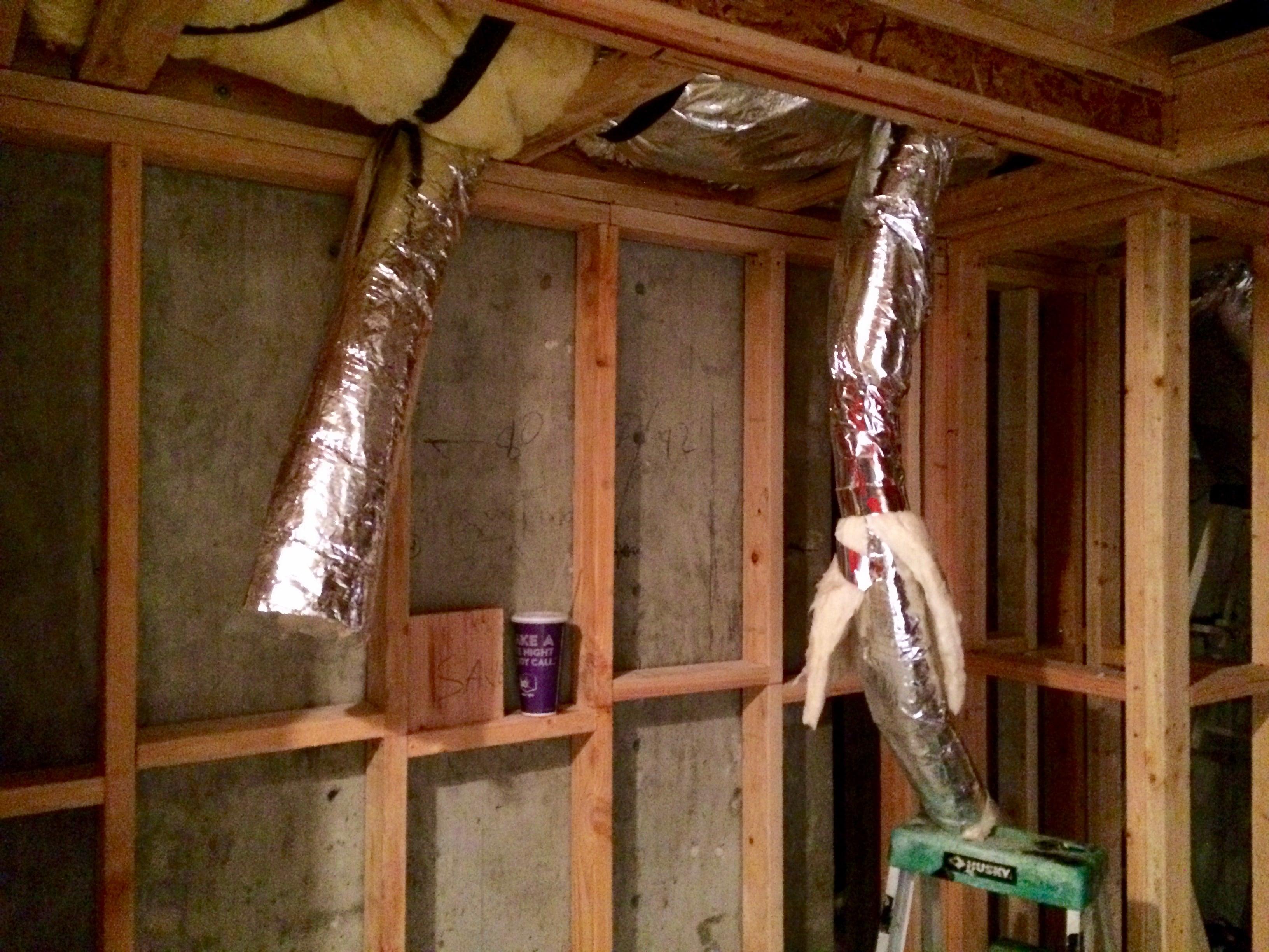 Aluminum flex ducting