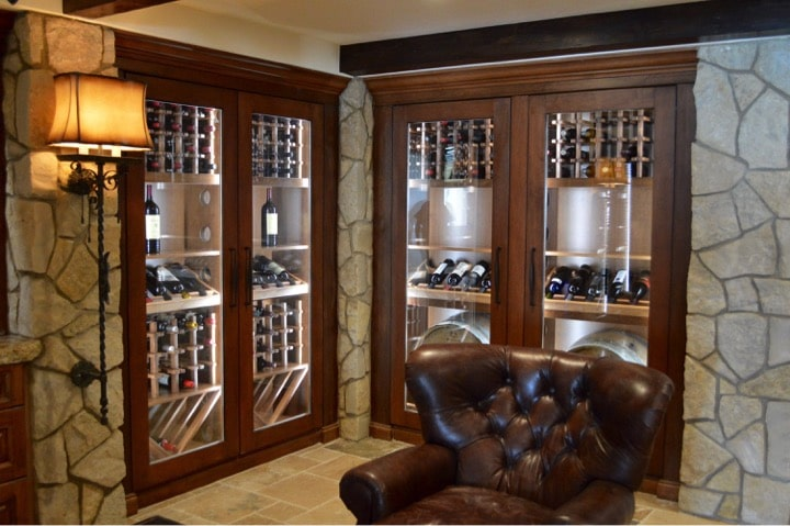 David Gype and his team at Arctic Metalworks had the chance to work on a refrigeration system project in Laguna Beach, California. These are the elegant custom wine cabinets in the client's beautiful residence in Three Arch Bay Community, Oceanfront.