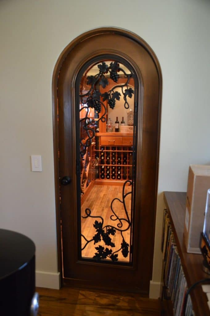 Wine cellar door irvine