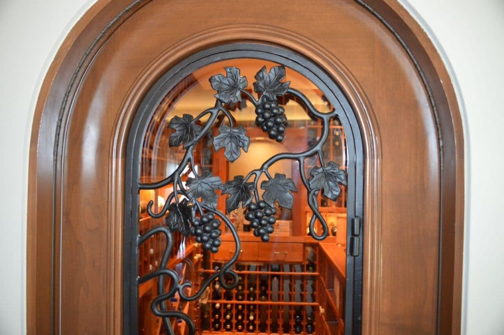 custom wine cellar door California