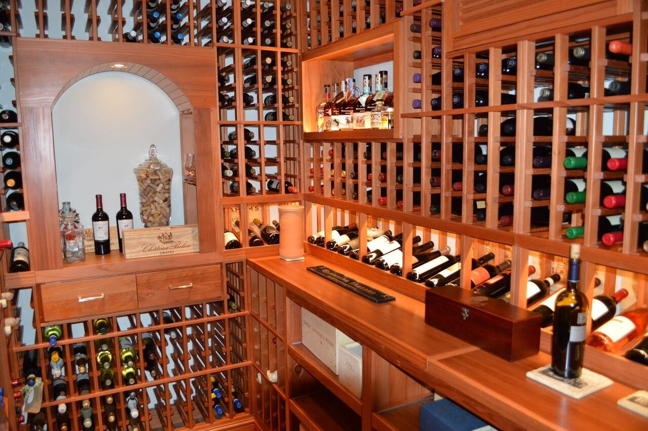Click to see larger image! & Residential Wine Cellar Installation in Irvine California