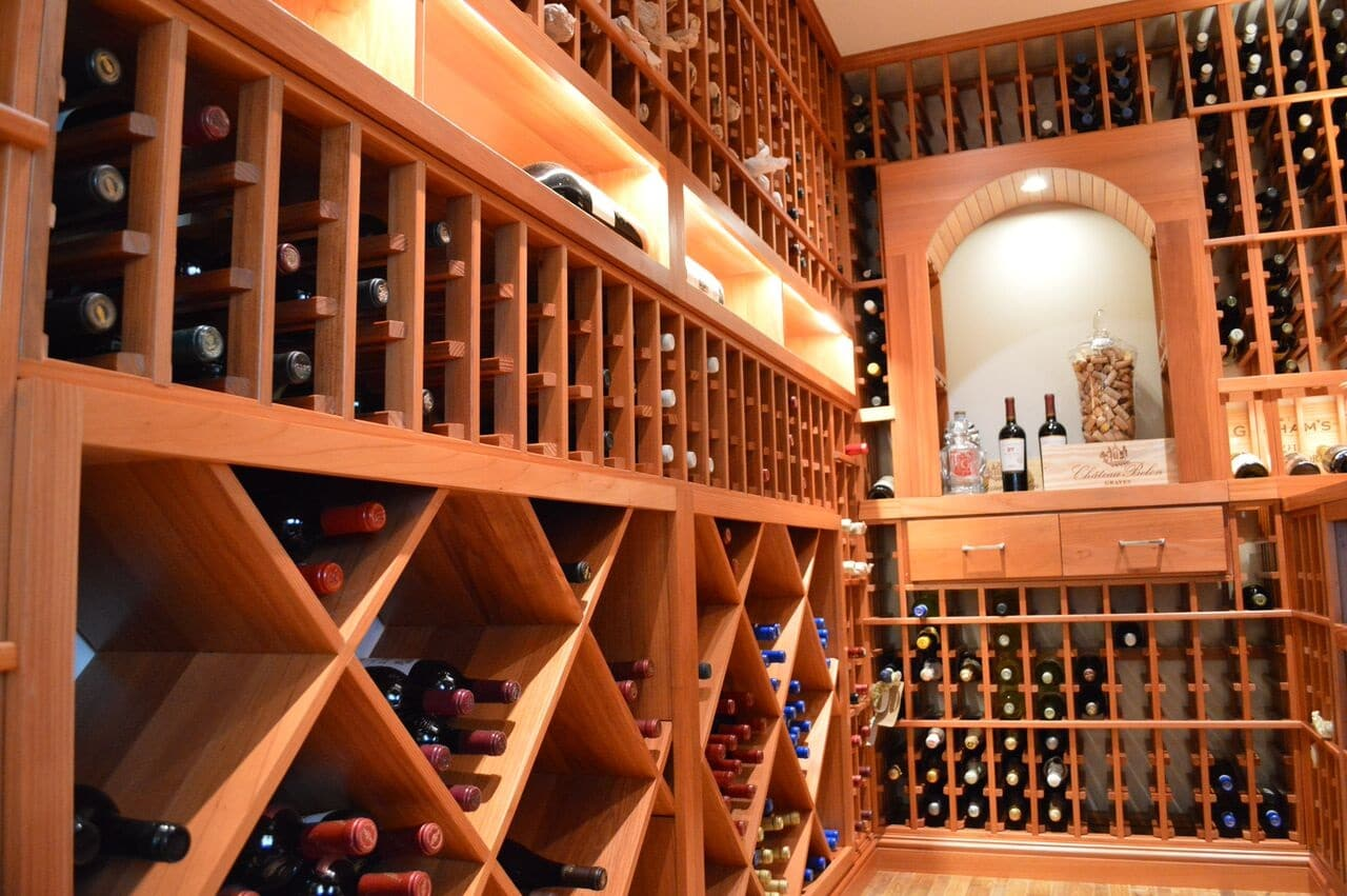 residential wine cellar installation in irvine california. Black Bedroom Furniture Sets. Home Design Ideas