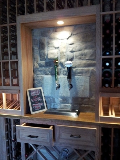 Arctic Metalworks creates one of a kind wine-cellars!