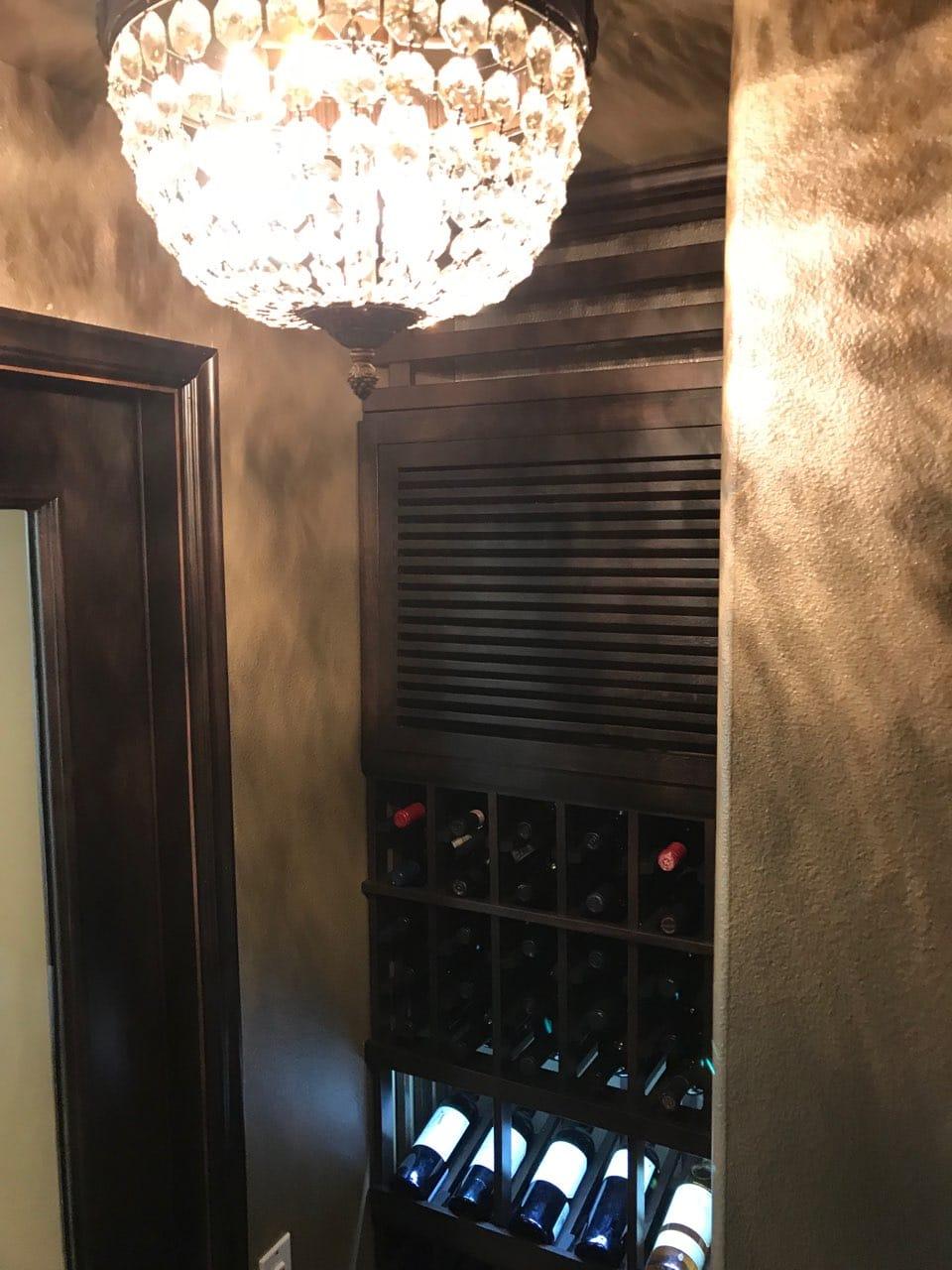 We insulate every custom wine cellar door we install